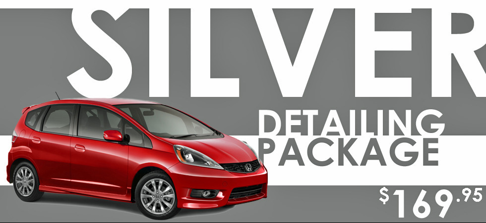 Promotion: Detailing Silver Package – $169.95
