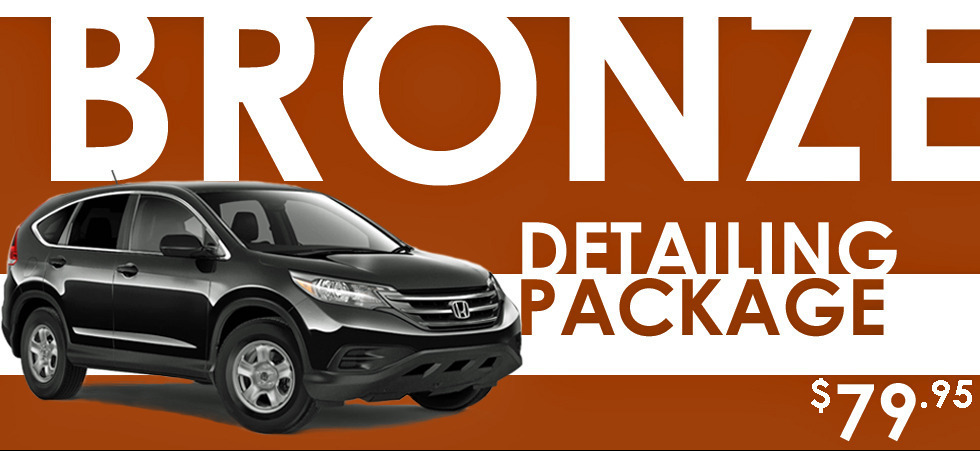 Promotion: Detailing Bronze Package – $79.95