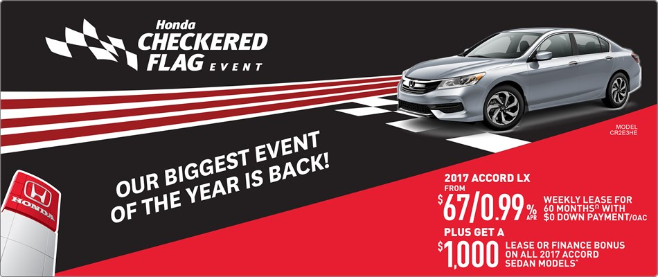 2017 Honda Accord LX | Checkered Flag Event