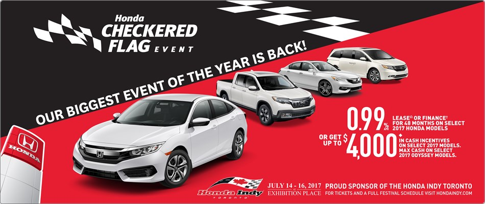 Honda Checkered Flag Event | Our Biggest Event of the Year is Back!