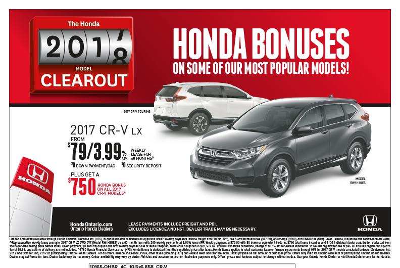 2017 Honda CR-V LX | The Honda Model Clearout