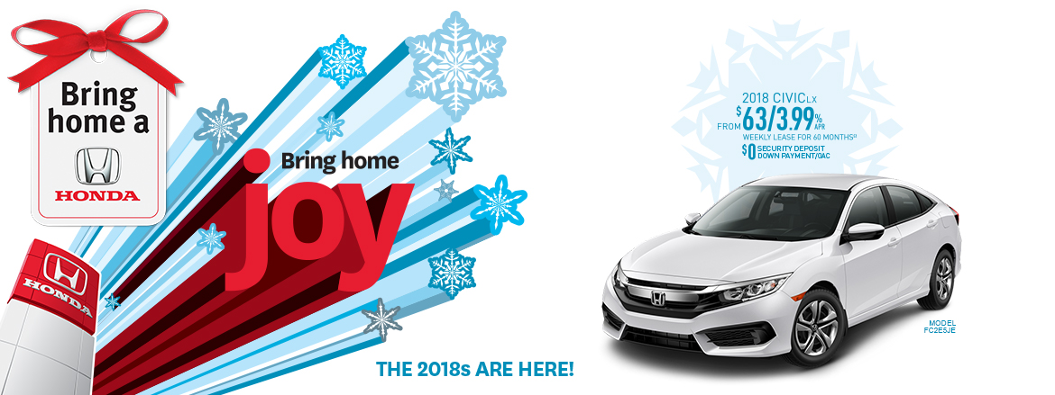 2018 Honda Civic LX | Bring Home a Honda