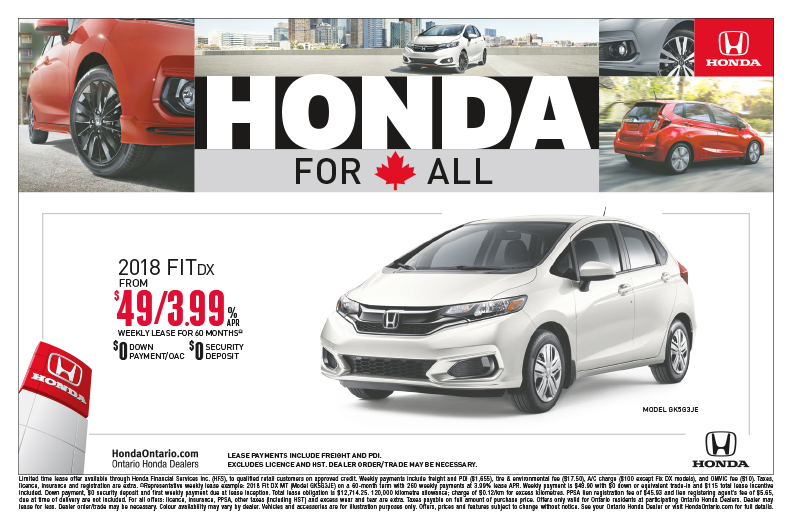 2018 Fit DX MT | Honda For All