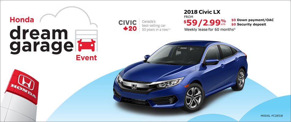 2018 Honda Civic LX | Honda Dream Garage Event