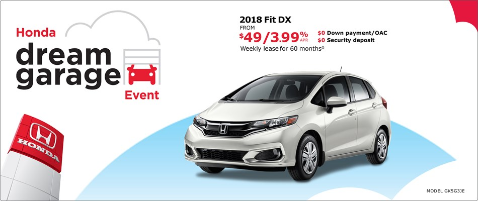 2018 Fit DX MT | Honda Dream Garage Event