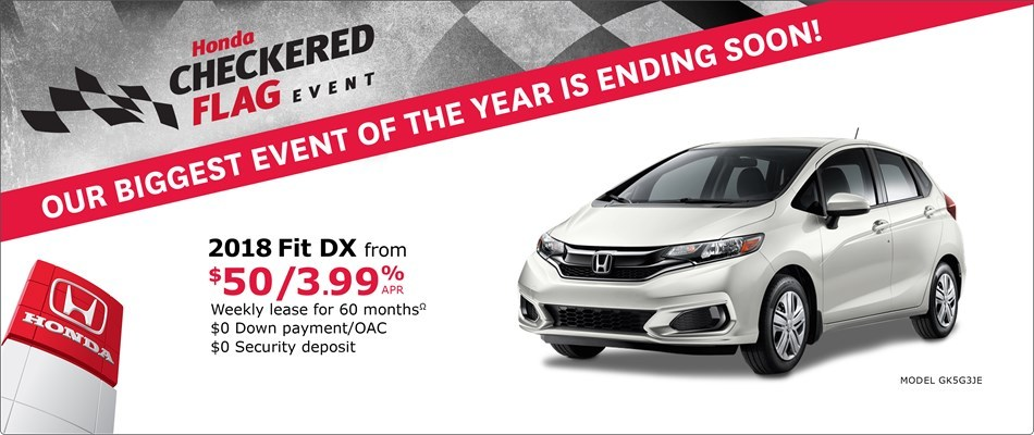 2018 Fit DX MT | Honda Checkered Flag Event