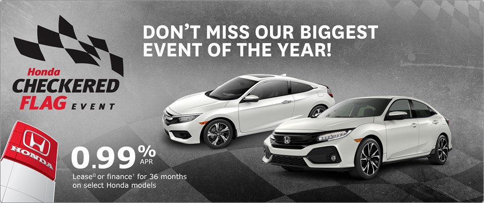 Honda Checkered Flag Event | Don't Miss Our Biggest Event of the Year!