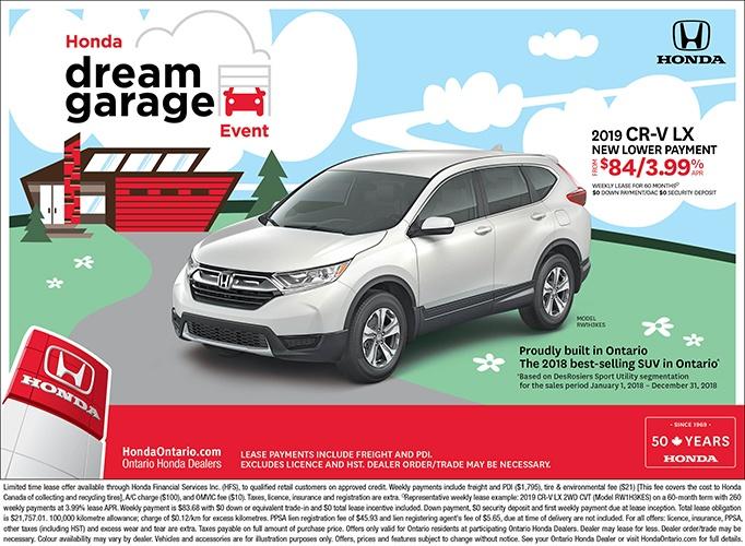 2019 Honda CR-V LX | March Dream Garage