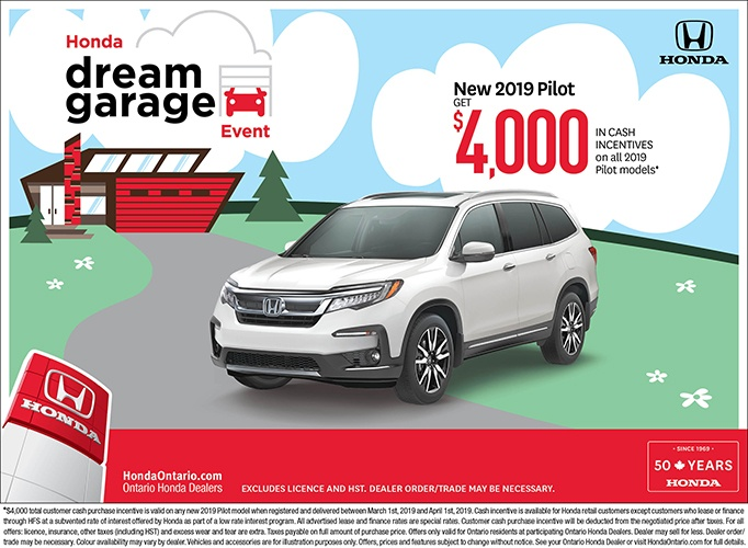 2019 Honda Pilot| March Dream Garage