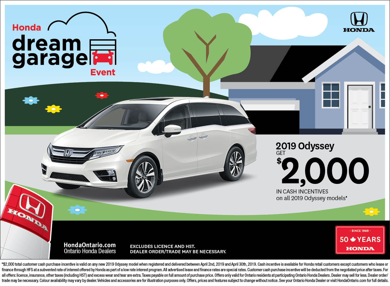 2019 Honda Odyssey | April Dream Garage