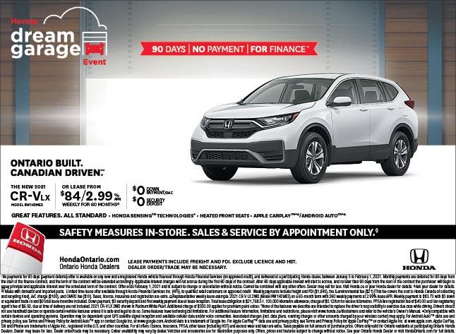 2021 Honda CRV LX