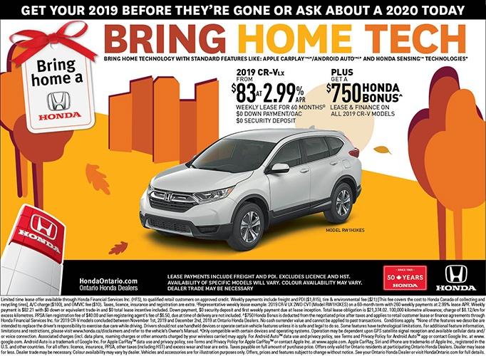2019 Honda CRV LX