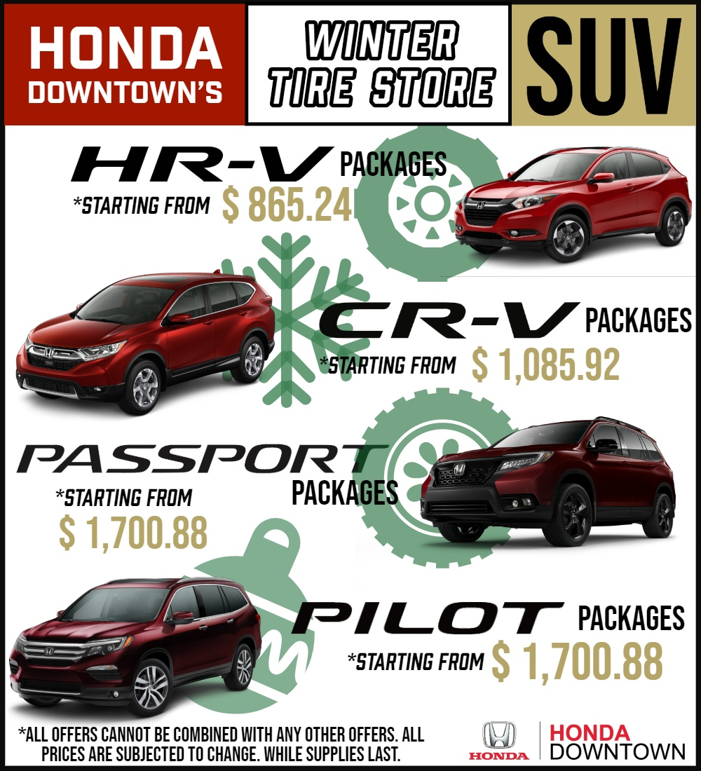 Winter Tire Packages SUV