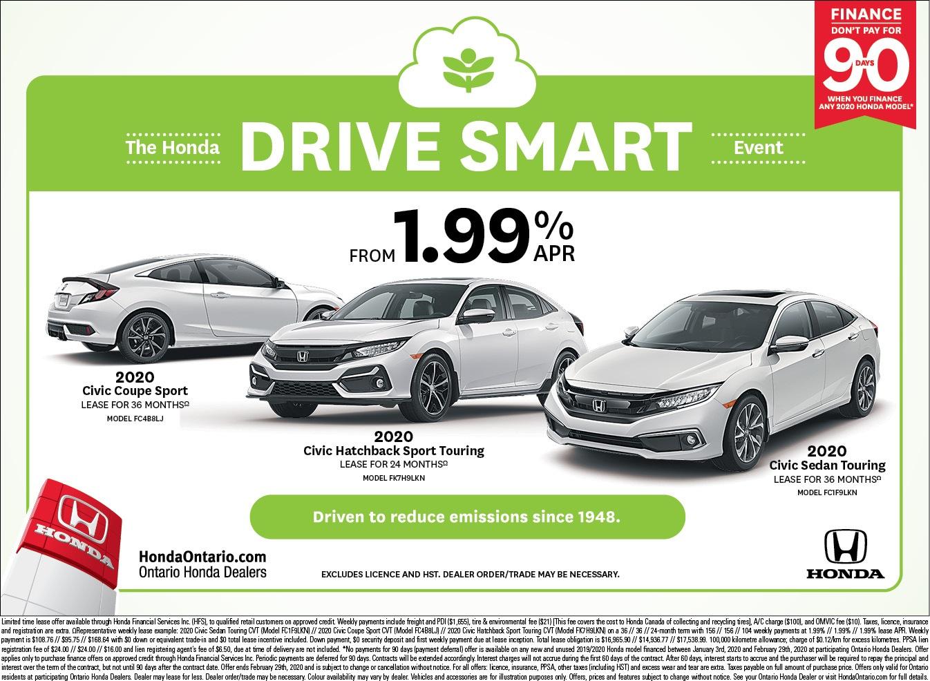 2020 Honda Civic Family