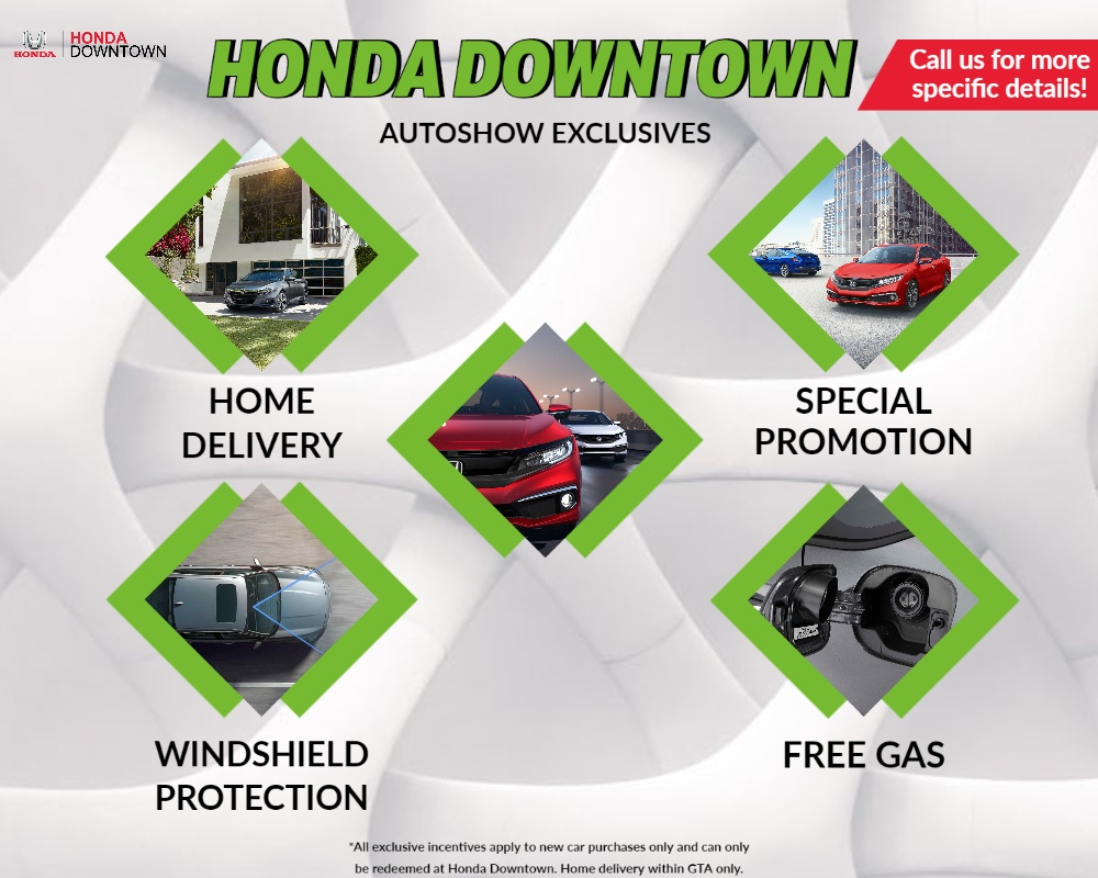 Honda Downtown | AutoShow Exclusives