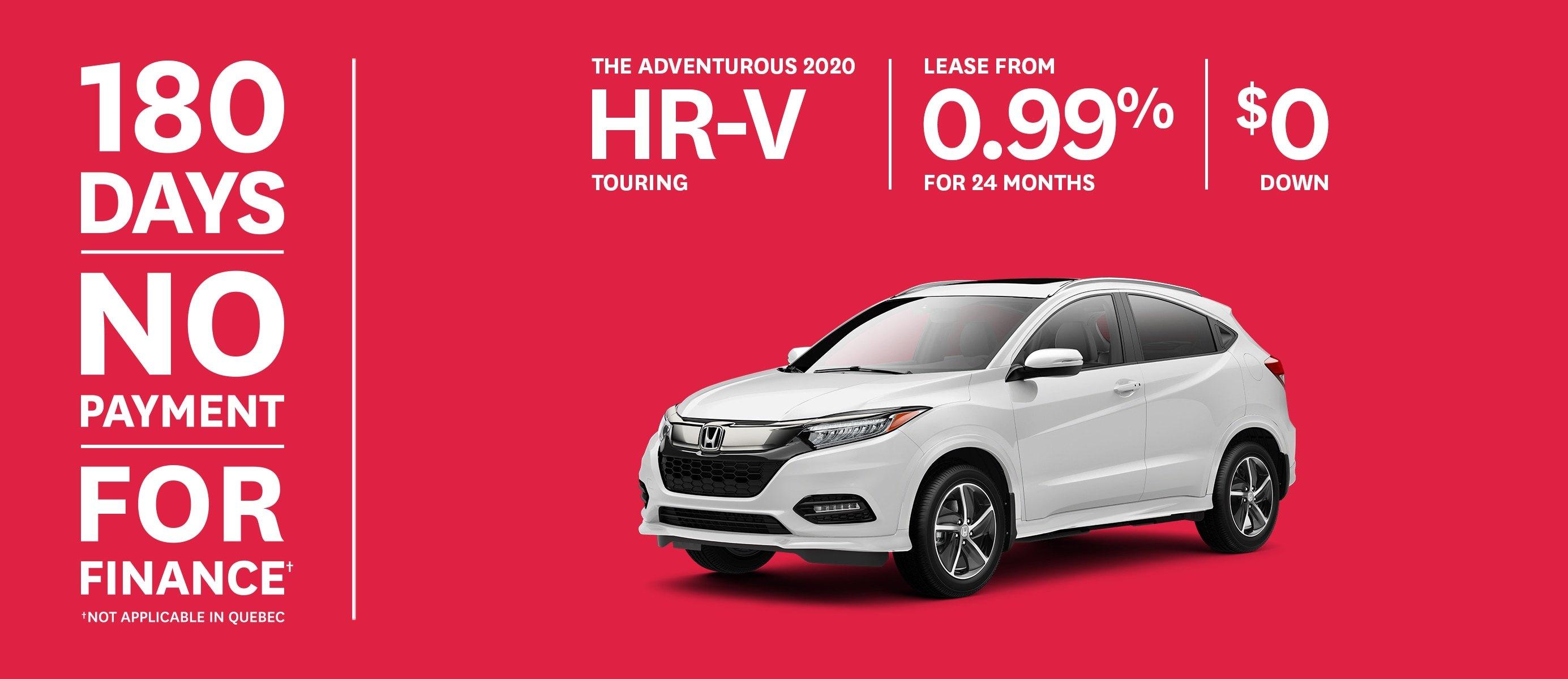 2020 Honda HR-V Touring