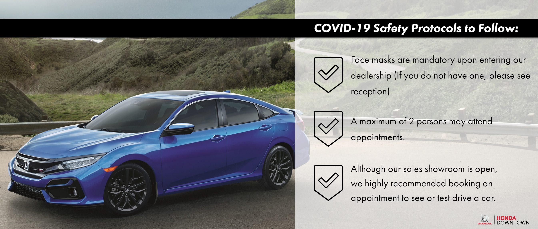 Covid 19 safety protocols