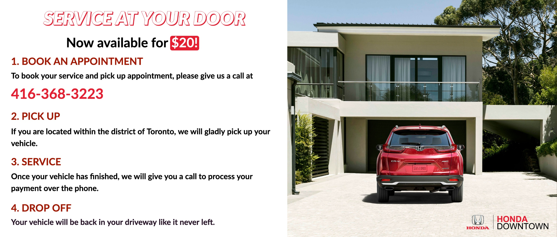 Service at your door