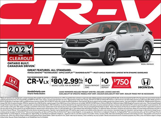 2020 Honda CRV LX