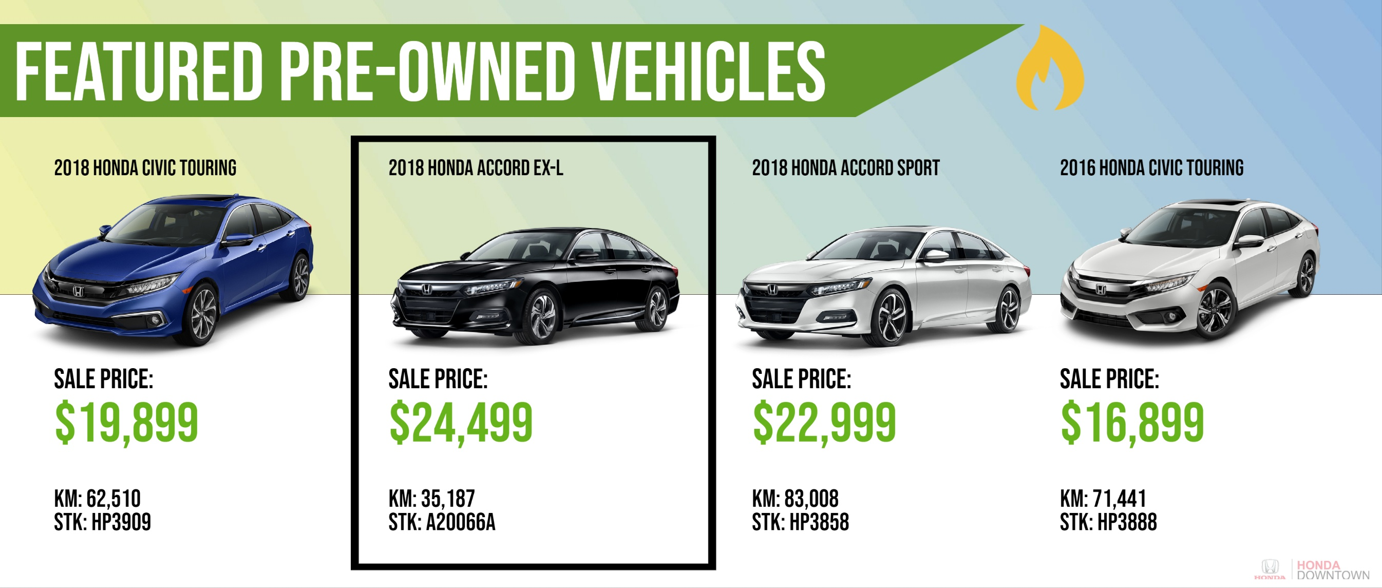 featured pre-owned vehicles